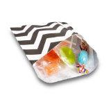 Черный Свадебное конфеты полоска бумаги подарочный пакет (YH-PGB146)