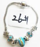Armband Ref van de Charme DIY van vrouwen de Echte Zilveren Geplateerde Met de hand gemaakte: P 026