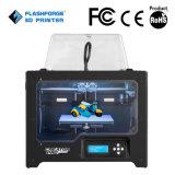 Stampante 3D con l'espulsore doppio, ente completo del blocco per grafici del metallo, filamento del creatore di Flashforge PRO dell'ABS