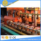 サーボ・システム中国は4つのプラスチックびんを作るためにキャビティプレフォームの吹く機械を作った