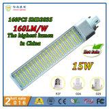 12W G24 (2pino 4 pino) /E27g23 (2 pinos) LED de luz da lâmpada de milho Pl para restaurante, Hotel, Office, Hospital