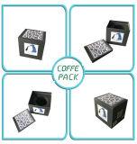 Черный элегантный подарок украшения упаковочные ящики с крышкой