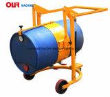 Емкость 300 кг барабан тележка/мобильного оператора погрузчика барабана/масла несущей частоты вращения барабана
