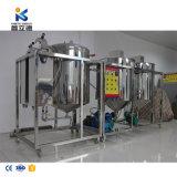 Pianta di raffineria della macchina di raffinamento del petrolio greggio della macchina di raffinamento dell'olio di girasole/olio da cucina