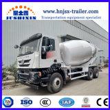 具体的なミキサーのトラックを混合するSinotruk HOWO/IvecoのSelf-Loading 8cbm/10cbm/12cbm/8m3/10m3/12m3セメント