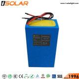 IP67 Automatique 60W Batterie de litio Solaire Voie Lampadaire