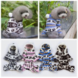 Les chiens d'hiver chaud Pet Products enduire Deer coton Vêtements pet