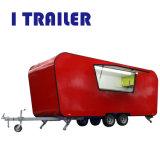 台所装置が付いている国際規格の譲歩の食糧トレーラー