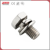 Instrument de métal personnalisée les raccords de compression en laiton écrou en acier en aluminium