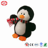 Giocattolo sveglio di natale di Velboa di inverno del pinguino del cappello molle bello di usura