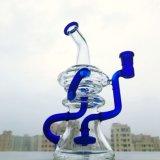 Mini verre Gldg fumer pipe à eau recycleur DAB plates-formes pétrolières