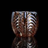 Mercury-Glaskerze-Halter mit geprägtem Muster