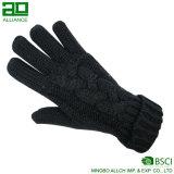 Оптовые женщины способа связали теплые перчатки
