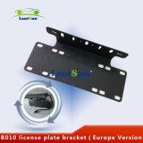 La targa di immatricolazione del veicolo di trasporto del metallo della parentesi della targa di immatricolazione B010 incornicia la versione dell'Europa