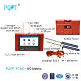 Detetor automático da água subterrânea de tela de toque de Pqwt-Tc150 150m completamente