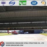 Luz Prefabaricated Sinoacme edifícios com estrutura de aço para Hangar de avião