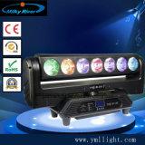 Бесконечные вращения на 5 глав 4в1 RGBW посторонние пятна светодиод перемещения головки блока цилиндров-бар и клуб лампа