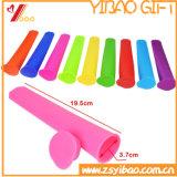 Popsicle molle del silicone del commestibile della FDA per il gelato del silicone (XY-SC-002)