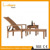 Top-Level Handmade Rattan Sunbed Lounger Piscina Móveis Lounge Chair