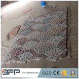 Stuoie cinesi del lastricatore della pietra del ciottolo del granito che collegano la pietra del cubo del lastricatore per il passaggio pedonale