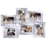 Пластичная Multi рамка фотоего изображения зеркала стены коллажа Openning