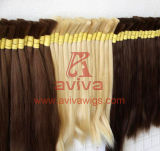 Unprocessed Natural Virgin Remy Cabelo Humano Bulk