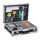 Completamente almacenada terminación de red por cable de fibra óptica del sistema de herramienta de la caja