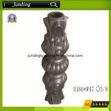 Ghisa rotondo ornamentale/collare d'acciaio per la rete fissa ed il cancello del ferro saldato