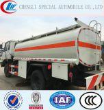 Het Uitdelen van de Stookolie van het Roestvrij staal 15000liters van Dongfeng 4X2 Vrachtwagen