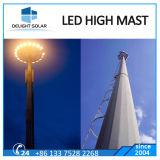 백색 색깔 Highmast 경기장 프로젝트 옥외 LED 플러드 빛