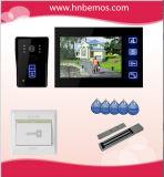 """De nieuwe 7 """" Handen Vrije VideoDoorphone van de Kleur met de Camera van IRL met Elektronisch Slot"""