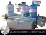 Automatischer runde Flaschen-Kennsatz, der Maschine für 5L-20L haftet