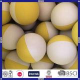 Оптовая цена Китай сделала двойной шарик сквош цвета