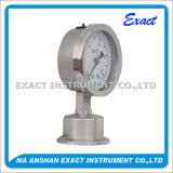 La pression sanitaire Mesurent-Hygeian l'indicateur de pression de Mesurer-Membrane de pression