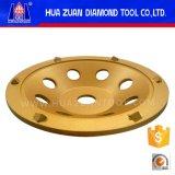 Huazuan 6 PCD 구체적인 지면을%s 가는 컵 바퀴