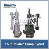Pompe à moteur en boîte par circulation verticale d'eau chaude