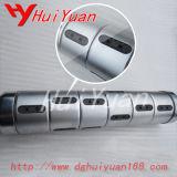 Eixo de ar de fricção para máquina de corte de filme e filme de alta velocidade