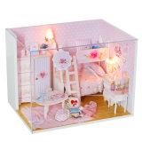 Игрушка 2017 Dollhouse мебели DIY Mininature деревянная