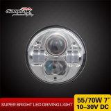 7inch 둥근 헤드라이트 Hi/Low 광속 LED 헤드라이트