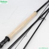 pesca dada doble Rod de mosca 7/8wt del 13FT