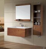 Moderno con vanità classica della stanza da bagno di legno solido
