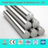 Barre d'extrudé en alliage aluminium largement utilisé dans l'industrie de construction