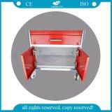 바퀴를 가진 저장 트롤리를 이동하는 AG Mt026 ISO&Ce 빨간색 2 서랍
