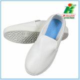 Противостатический ботинок работы PVC кожаный
