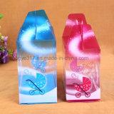 Contenitore trasparente di bottiglia di bambino del contenitore di PVC della scatola di plastica del PVC pp