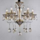 Goldene Glaskunst-hängendes Kristalllicht