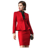 Top Quality Ladies Office Vêtements formels Women Business Suit