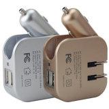 Double chargeur de voiture à allume cigare USB Chargeur de voiture 100V-240V avec USB Plug