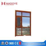 Salto térmico aluminio Casement ventana con la pantalla de mosquitos balcón