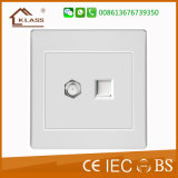 1 Gang Speed ​​Fan Dimmer Switch com Single Pole